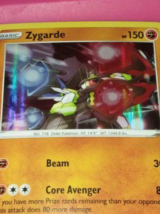 Rare Holo Zygarde Vivid Voltage Mint Pokemon Card