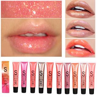 Brand Long Lasting Moisturizer Glitter Lip Gloss Tint Cosmetics Nutritious Shimmer Lipstick Makeup