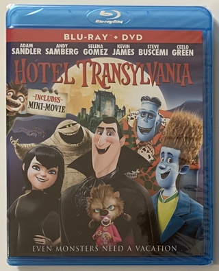 Hotel Transylvania (Blu-Ray + DVD Combo Movie - 2012) - Brand New Factory Sealed