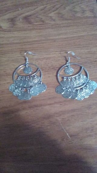 Earrings** first auction