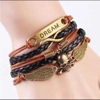 New Dream Infinity Skull Angel Bracelet