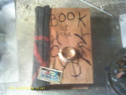 """""""Book of Shadows"""" book safe"""