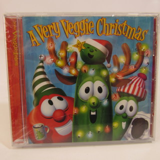 A Very Veggie Christmas CD Holiday Music NEW Sealed
