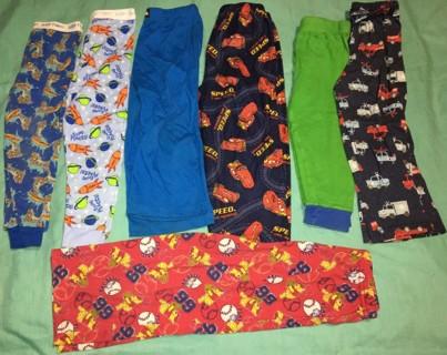 Huge lot mixed Boys 3t pajama tops & bottoms