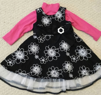 Cutest Dress For Your Lil Girl! Low GIN! Sz 3T!