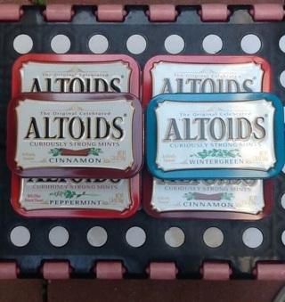 • ¤¤¤  ALTOIDS TINS  ¤¤¤ 6 BOXES ¤¤¤ •