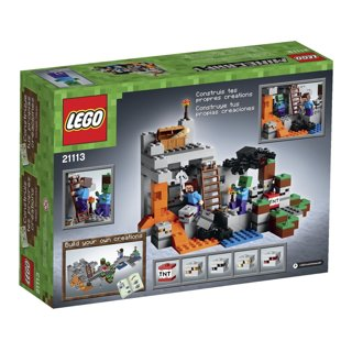 New LEGO Minecraft The Cave 21113