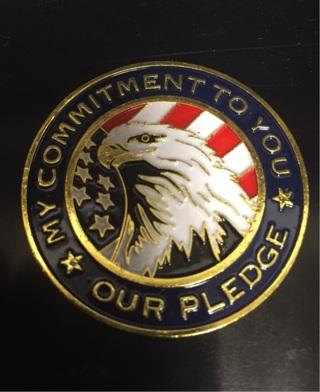 National Guard Patriotic Coin