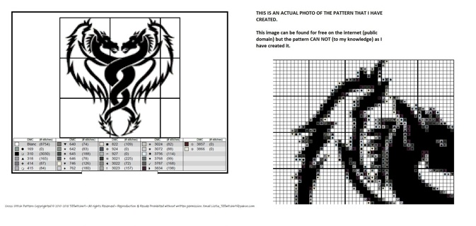Dragon Cross Stitch Patterns ***WINNERS CHOICE***