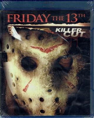 Friday The 13TH Killer Cut Blu-Ray *NEW*