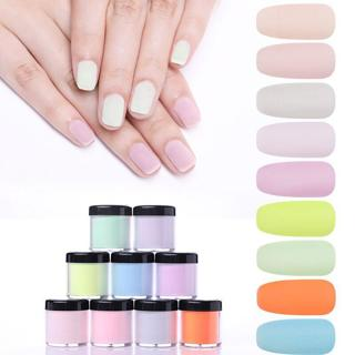 NICOLE DIARY 10ml Nail Dip Powder Dipping System Powder Without Lamp Cure Nail Powder Gel Natural