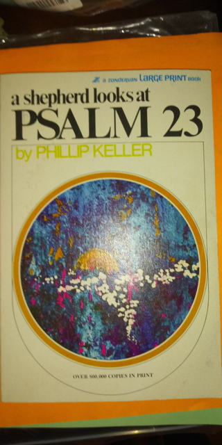 Psalm 23 Paperback book