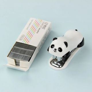 1 Set Kawaii Mini Stationery Stapler Set Office Accessories Book Paper