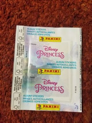 "NEW, ""PRINCESS"" STICKER PACK"