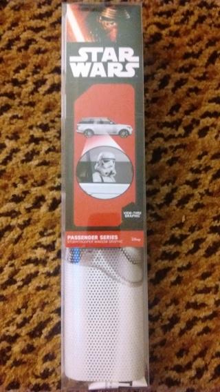 Brand NEW 'Star Wars' StormTrooper Passenger Window Shade!!