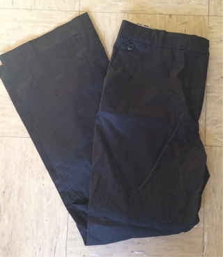 H&M Black Casual Work  Pants, Size 10