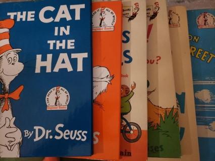 Set of Dr. Seuss books – 6