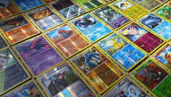Pokemon Cards LUCK OF THE DRAW Free HOLO Pokemon Cards Reverse FOIL Cards Anime Pocket Monster