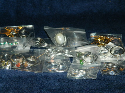 New~Wholesale Lot of 60-70 Rings