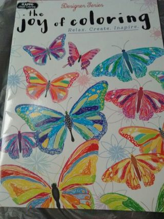 2 Adult Coloring Books