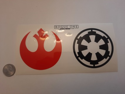 Star Wars Rogue One Sticker Decals for Laptop Tablet Computer
