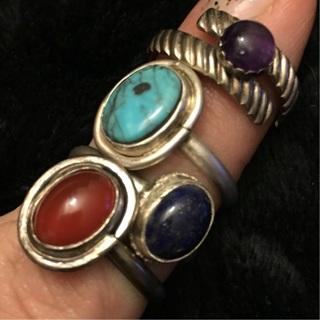 Pick One Sterling Silver Gemstone Ring