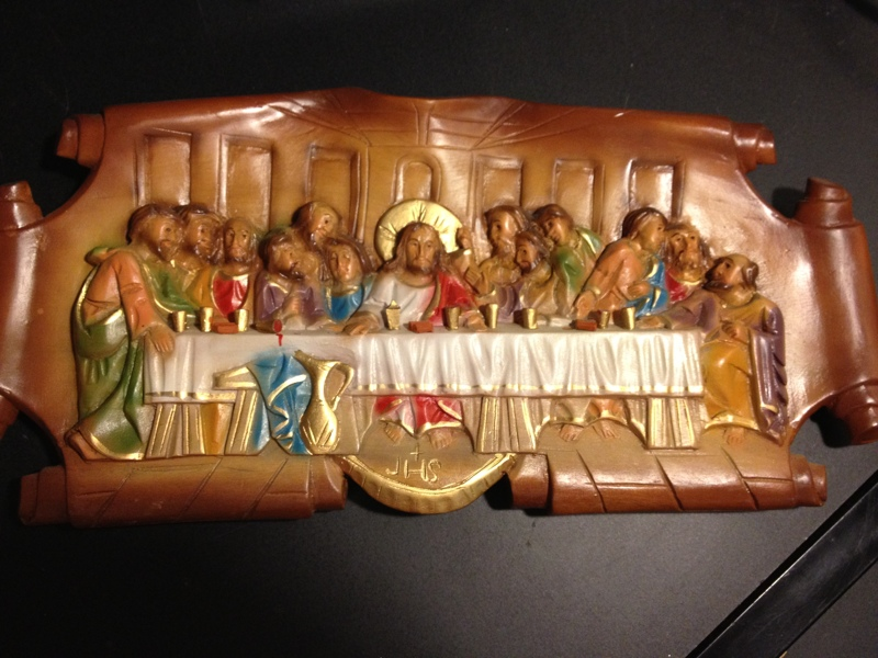 Free quot the last supper wood carving of jesus christ and