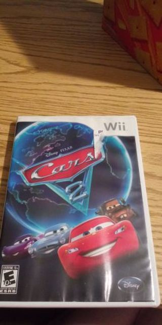Cars 2 nintendo wii game