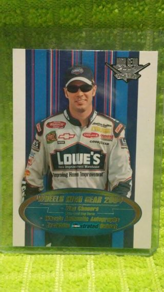 Jimmie Johnson 2004 Wheels High Gear card