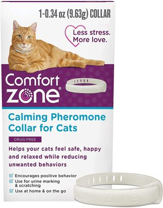 Comfort Zone Cat Calming Pheromone Collar