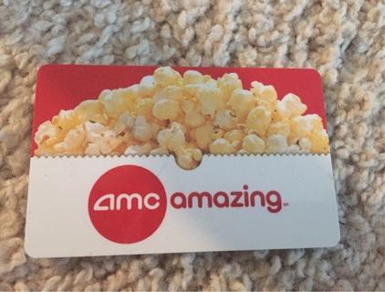 AMC Theatres Movie Gift Card