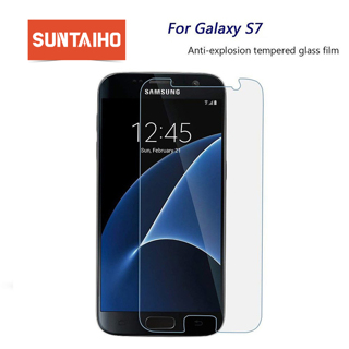 Suntaiho 2.5D Tempered Glass For Samsung Galaxy S7 A3 A5 A7 2016 Screen Protector For Samsung A3 A5