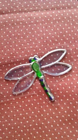 Metallic Foil dragon Fly Stickers