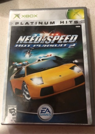 Xbox Platinum Hits Need For Speed Hot Pursuit 2 Game