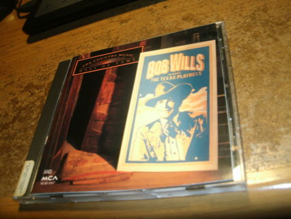 cd-bob wills&the texas playboys-greatest hits-hall of fame-country-used-ex