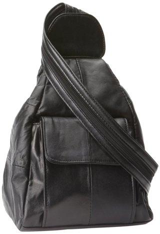 lambskin bag, backpack