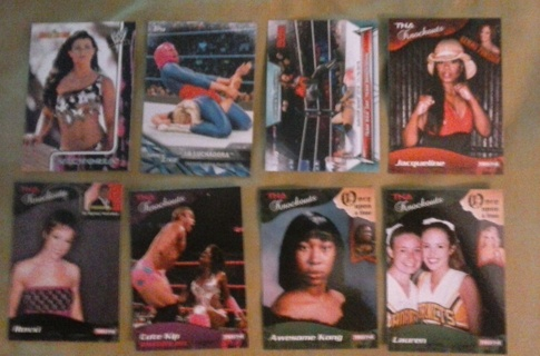 8 card divas knockouts woman wrestlers lot