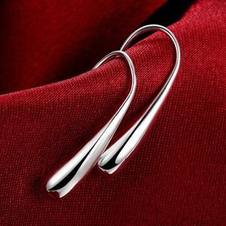 Silver Earring Fashion Jewelry Teardrop