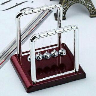 Newton's Cradle Steel Balance Balls Desk Physics Science Pendulum Desk Toy