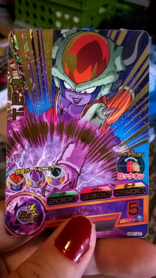 Free Rare Holo Chilled Dbz Dragon Ball Z Card Trading Card Games