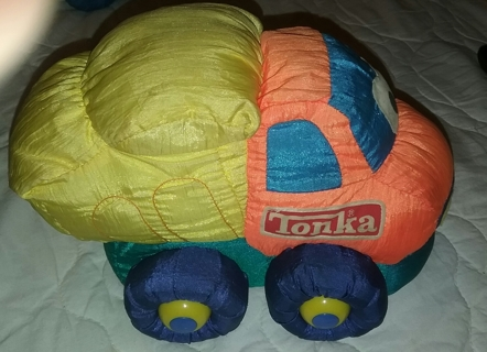 Tonka Plushes squeaky Dunk Truck