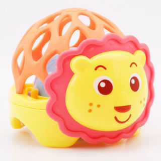 Lion Elephant Hand Bell Cute Baby Rattles Infant Kids Toddler Toys G