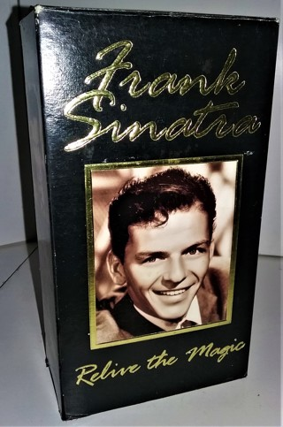 """1994 """"Frank Sinatra - Relive the Magic"""" 2 VHS tapes - 90 minutes - VG condition"""