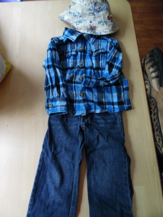 2T/3T Boys 3pc outfit