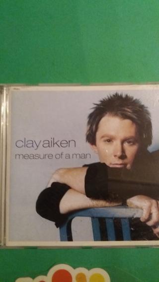 cd clkay aiken  measure of a man free shipping