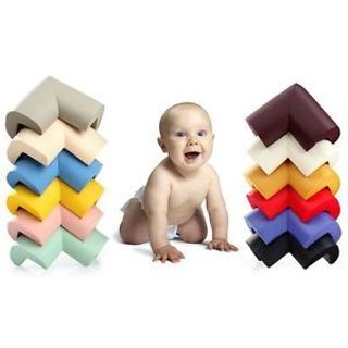 12x Baby Guard Protection Safety Cover Kids Edge Cushion Protectors Table Corner