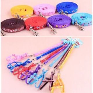 Dog Cord 6 Colors Cat Puppy Haulage Rope Puppy Rope Haulage Cable Safety Cord