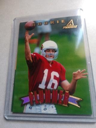2 Card lot football Jake Plummer rookie quarterback veteran Arizona Cardinals