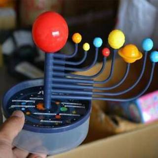 Kids Educational Toys 3D Science Solar System 9 Planets plastic Assembling Model