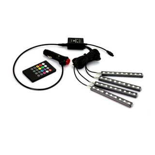 Decorative Atmosphere Neon Light Lamp LED Wireless Multi Color RGB Voice Sensor Sound music